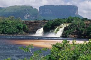 venezuela chute eau