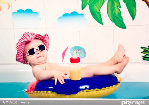 que faire en vacances avec un bébé