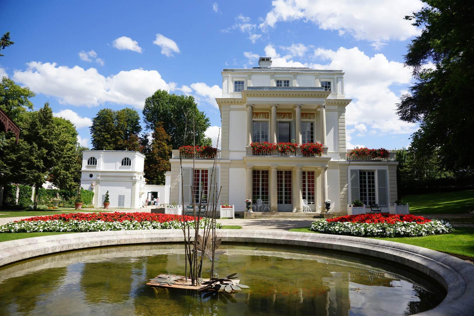 5 lieux visiter proches de paris for Parc yvelines visiter