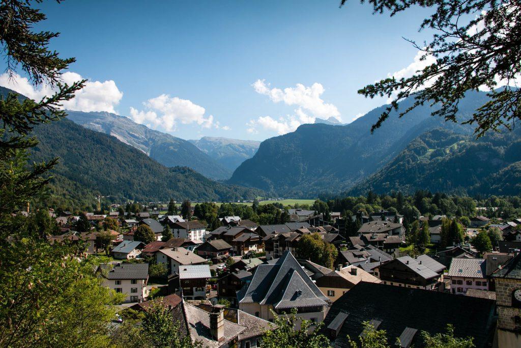 Samoëns station village de montagne en Haute-Savoie
